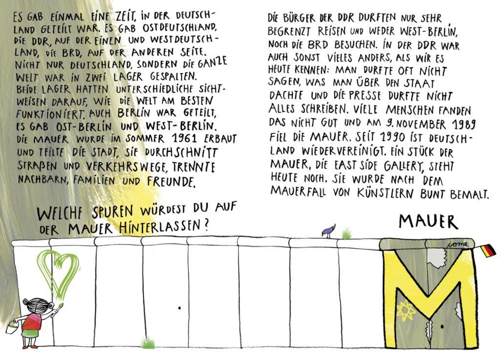 Mit dem ABC durch Berlin_M wie Mauer